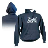 "Kapuzen Sweatshirt ""King of Queens"", navy"
