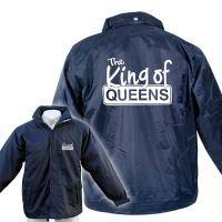 "Regenjacke ""King of Queens"", navy"