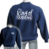 Sweatshirt King of Queens, navy