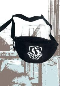 "Hip Bag ""Home of Football"" black"